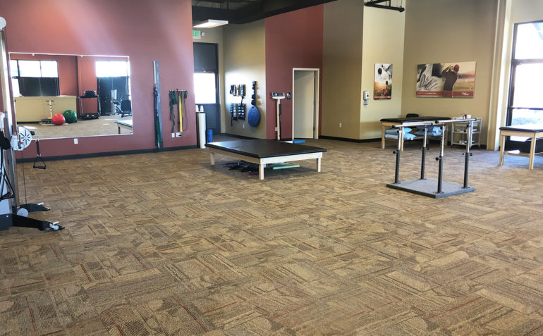 RMSS Centennial Physical Therapy Gym